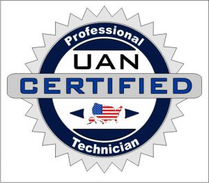 UAN Certified Technician Badge