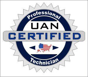 UAN Certified Technician Badge